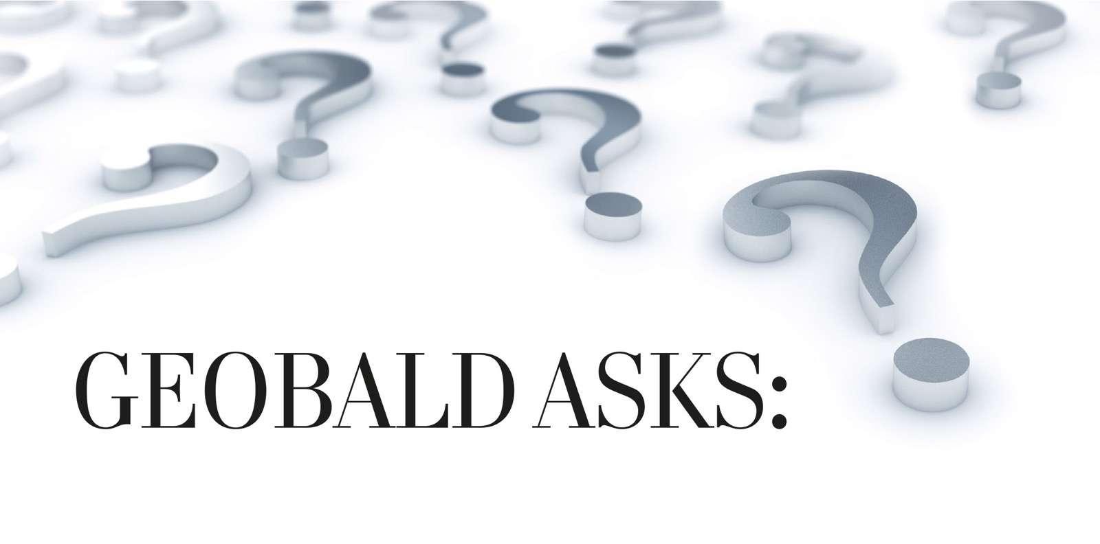 Geobald asks