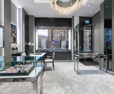 Hublot Boutique Zürich in neuem Gewand
