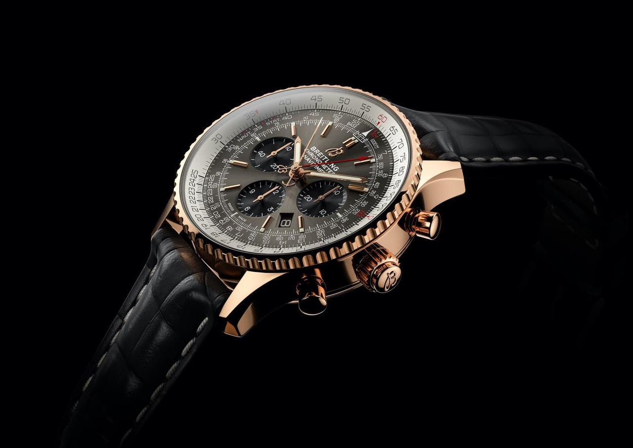 Die Breitling Navitimer B03 Chronograph Rattrapante 45