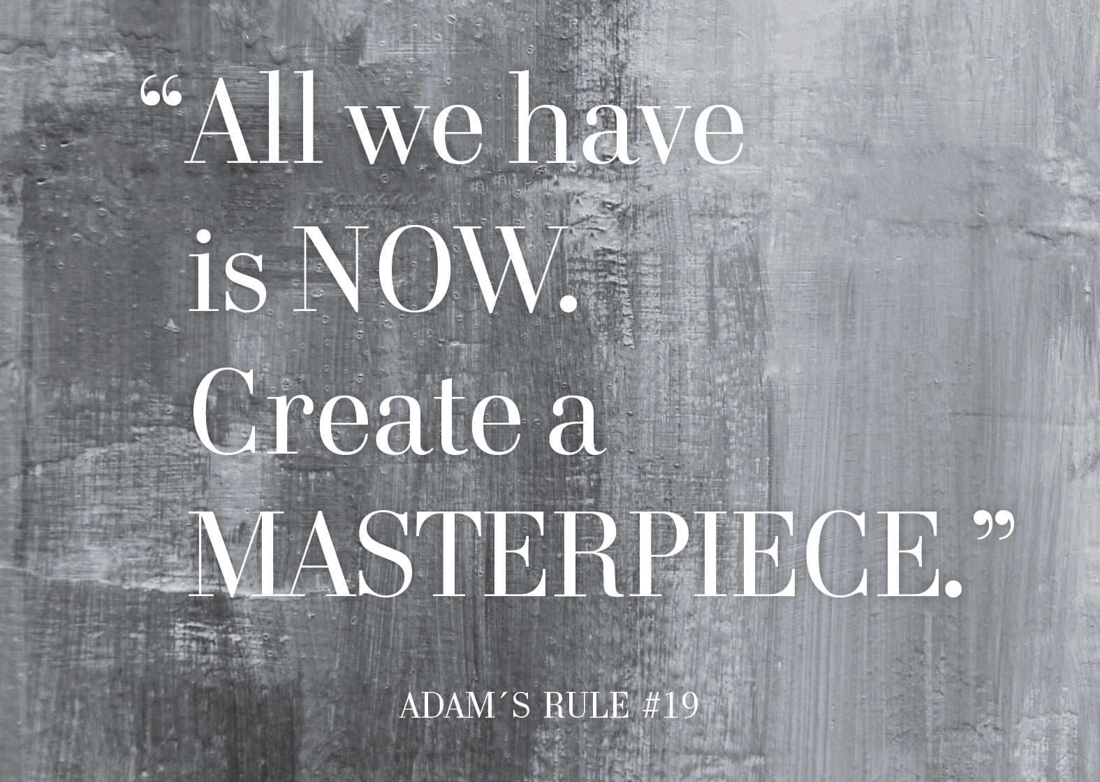 Adam's Rule #19